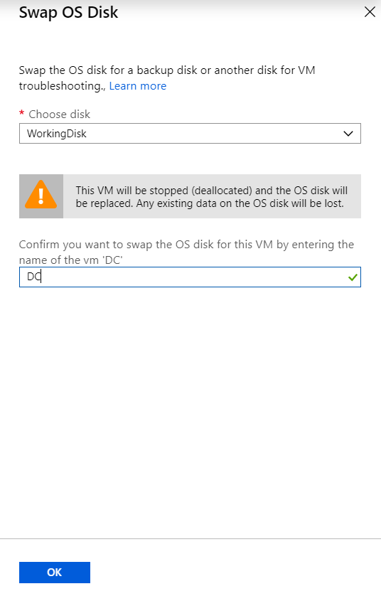 azure vm, azure managed disk, azure virtual machine
