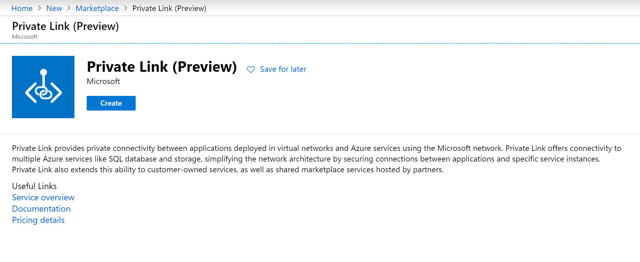 azure private link, azure private endpoint